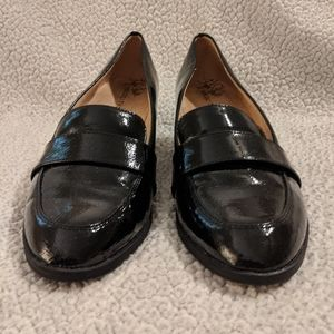 Black Heel Loafers